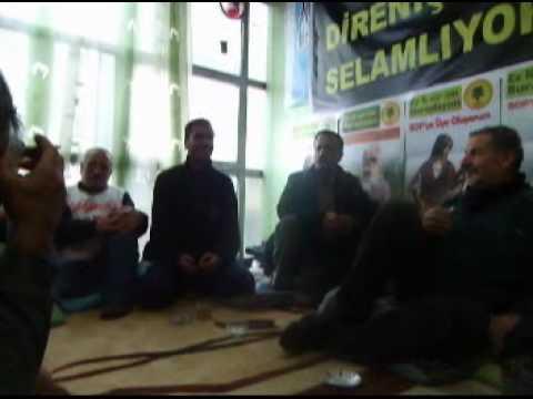 Doğubayazıt Açlık Grevinde Dengbejler Divanı 2012