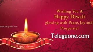 Happy Deepavali || Diwali Greetings 2014 - TELUGUONE