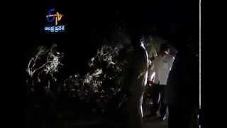 Chandrababu Makes Surprise Visit In Vizag @ Midnight - ETV2INDIA