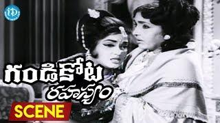 Gandikota Rahasyam Movie Scenes - NTR Fires On Devika| Allu Ramalingaiah - IDREAMMOVIES
