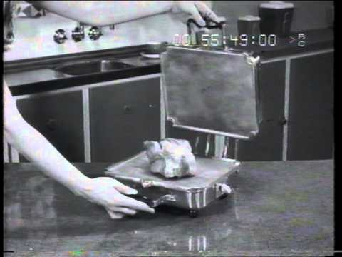 Aristocrat infrared cooker 1960 TV commercial