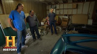 American Pickers: 1967 Jaguar XKE Convertible (Season 18, Episode 24) | History - HISTORYCHANNEL