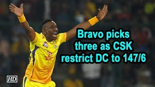 IPL 2019 | Match 5 | Bravo picks three as CSK restrict DC to 147/6 - IANSINDIA
