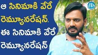 Two Different Remunerations For Two Movies - Sairam Shankar || Talking Movies With iDream - IDREAMMOVIES
