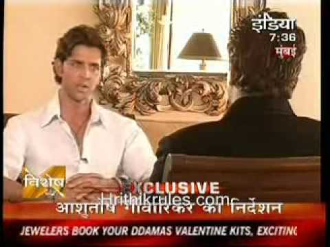  Hrithik Interview on Ndtv India Part 1 -Jodhaa Akbar - YouTube 