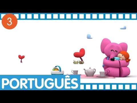 Pocoyo - Episódios completos em Português (Temporada 1 - Ep.9-12)