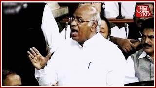 Mallikarjun Kharge Demands More Speech Time For Opposition; BJD Walks Out | AajTak Maha Coverage - AAJTAKTV