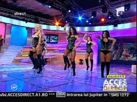Andreea Balan - Like a bunny @ Acces direct (Antena 1) - 07.09.2011