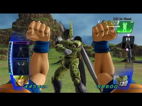 Dragon Ball Z Kinect Gameplay
