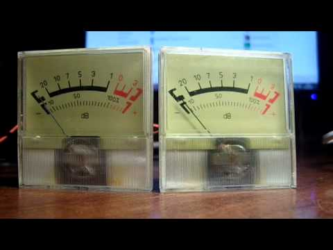 Самодельные индикаторы звука