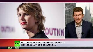 'Moscow is behind Manning's Senate bid': A sweet new conspiracy pie - RUSSIATODAY