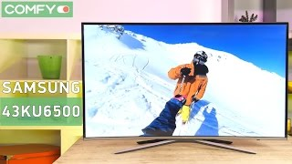 Samsung UE43KU6500 -  Ultra HD телевизор c изогнутым экраном - Видео демонстрация