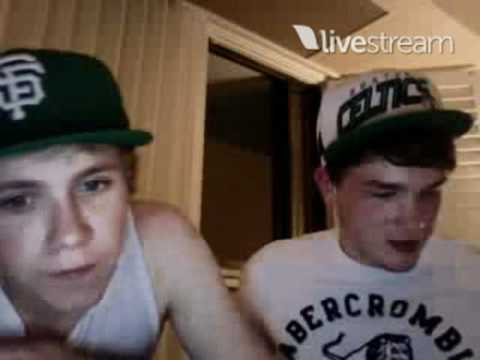 Niall Horan and Josh Devine Twitcam Monday 18 June 2012 pt 7