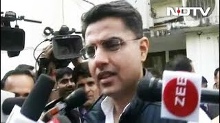 Sachin Pilot Thanks People For Early Results, Says Party Headed To Win - NDTV