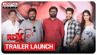 RDX Love Movie Trailer Launch | Paayal Rajput, Tejus Kancherla, C Kalyan - ADITYAMUSIC