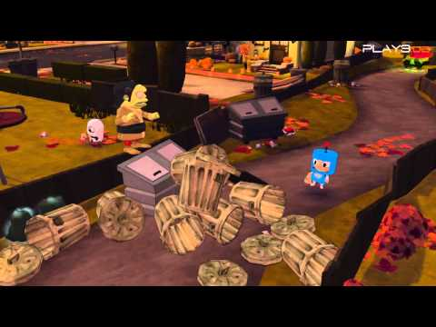 Costume Quest Gameplay (PS3)