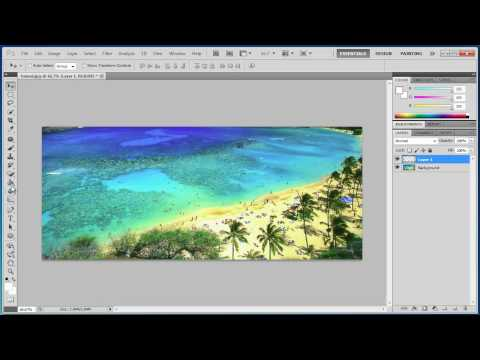 Photoshop CS5 - Placing Images In Text - Tutorial