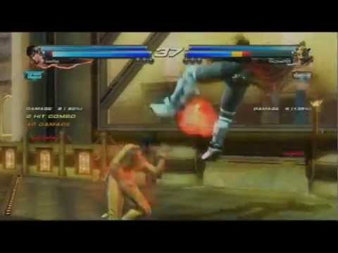 Tekken Tag 2 - Marshall & Forest Law vs King, Ganryu