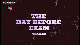 The day before exam // telugu short film // comedy // autowala - YOUTUBE