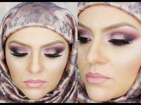 Maquillaje Arabe Ahumado Con Brillo | Extras