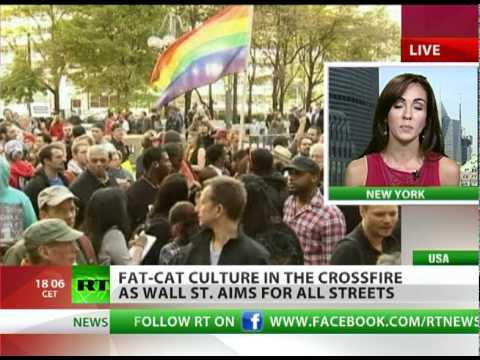 Fat Cats in Crossfire: Occupy Wall St. aims for all streets