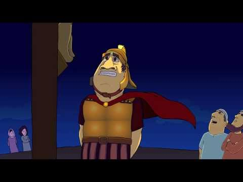 The Easter story animated 2/3 - The Death of Jesus (HD)