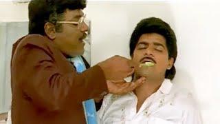 Tanikella Bharani Teaching Ali How To Brush Teeth | Akkum Bakkum Comedy - LEHRENTELUGU