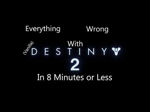 Destiny 2 - Cinema Sins Parody - #MOTW