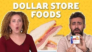 We Tried Dollar Store Foods 💰TASTE TEST - FOODNETWORKTV
