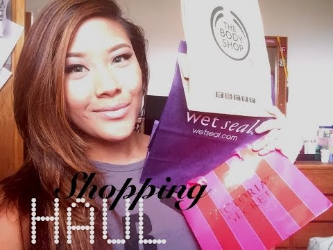 Drugstore & Shopping Haul | Body Shop, VS, & Wet Seal (chit chat)