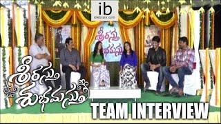 Srirastu Subhamastu team interview about success - idlebrain.com - IDLEBRAINLIVE