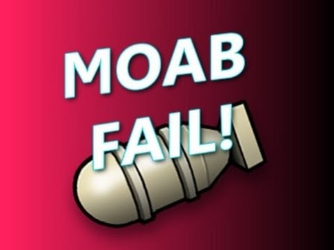 MW3 MOAB FAIL with Reaction NO WAY