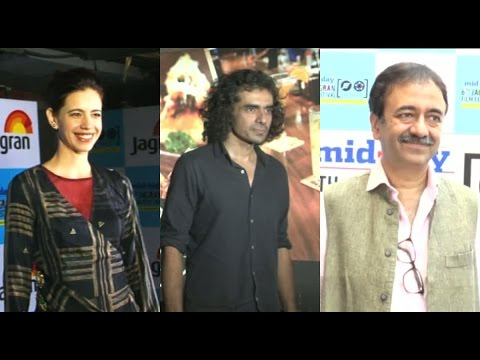 Kalki, Imitaz Ali And Rajkumar Hirani At Jagran Film Festival