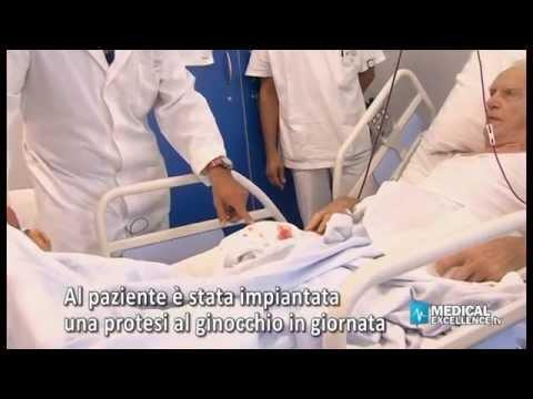 Protesi del ginocchio, pazienti operati e in piedi in poche ore