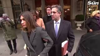 Cohen departs for sentencing at - THESUNNEWSPAPER