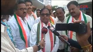 Ponnala Laxmaiah leads protest in Janagaon | Bharath Bandh | CVR NEWS - CVRNEWSOFFICIAL