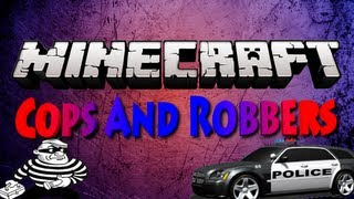 Minecraft Cops and Robbers w/ Gizzy, Nooch, and NoahCraftFTW