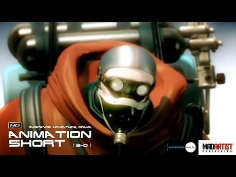 8848 - Awesome SciFi Animated Film By Gregory Jennings & Team (Supinfocom)