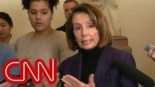 Pelosi: Trump outing our trip made things more dangerous - CNN
