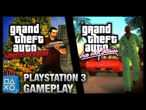 GTA Liberty City Stories & Vice City Stories - PlayStation 3 Gameplay (PSN)