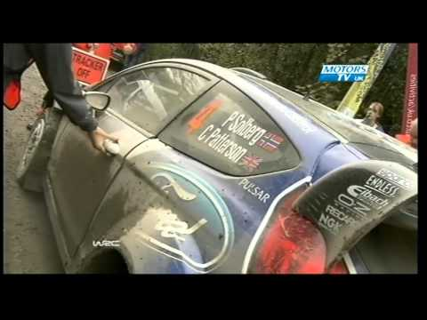 WRC 2012 Wales Rally GB Day 3 Highlights