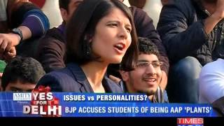 Delhi Elections: Issues Vs Personalities? - Part 1 - TIMESNOWONLINE