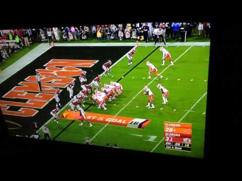 Deshaun Watson Game Winning TD Vs Bama