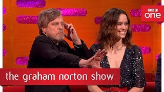 Mark Hamill uses the force - The Graham Norton Show: 2017 - BBC One - BBC