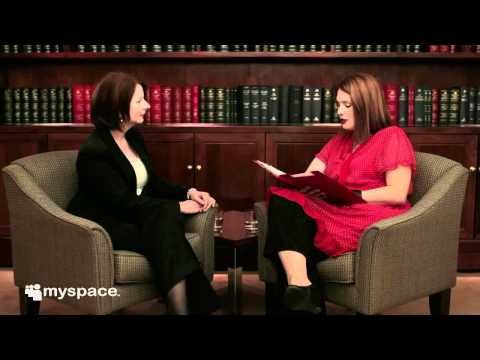 Myspace Presents - Prime Minister Julia Gillard Interview