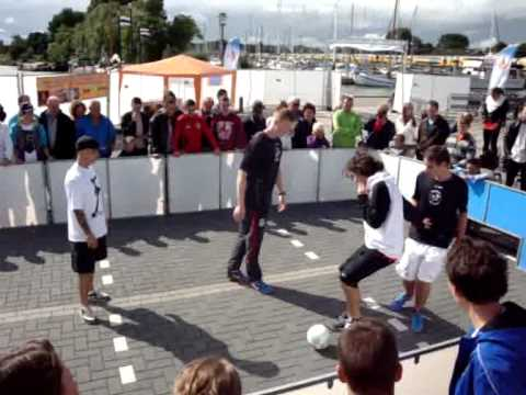 Streetsoccer Event 27-08-2011 Enkhuizen (aftermovie)