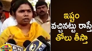 Bhuma Akhila Priya Emotional Speech Over Party Changing Rumours | Bhuma Akhila Priya Latest News - MANGONEWS