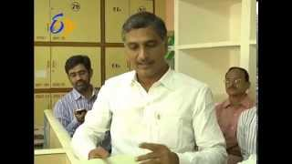 Minister HarishRao's Surprise Visit @ Jalasoudha, Hyderabad - ETV2INDIA