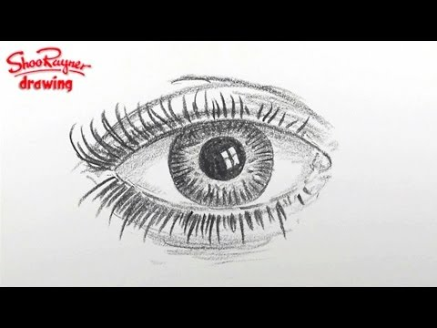 How to draw an eye - spoken tutorial