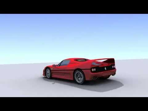 Car Animation Test - Blender